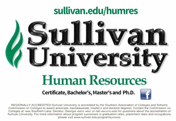 Sullivan University, Kentucky, HR program: Dr. Teresa Daniel